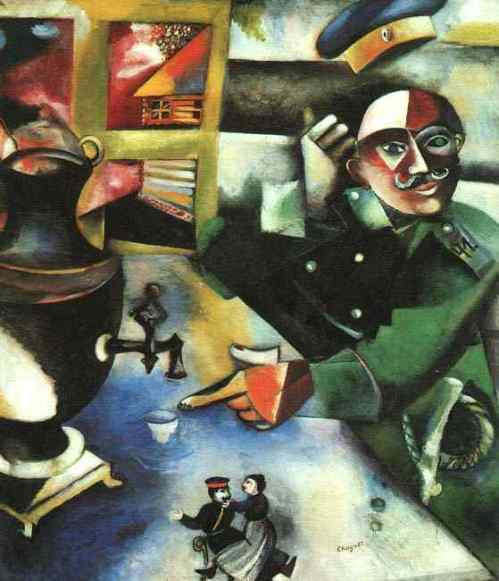Chagall: Soldier
