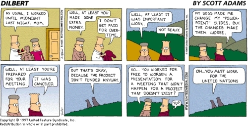 Dilbert: The United Nations