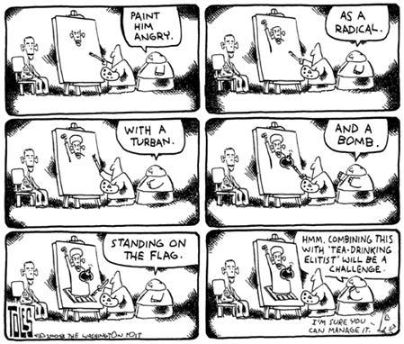 Obama Bin Laden Tom Toles