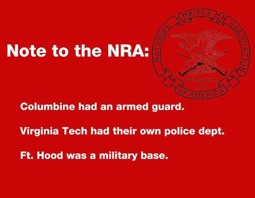 Note the NRA