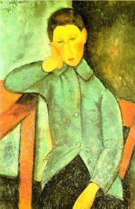 modigliani boy